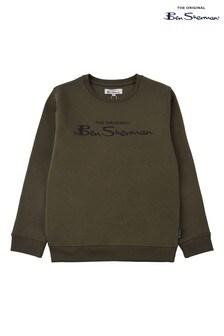 Ben Sherman® Green The Original Crew Neck Top