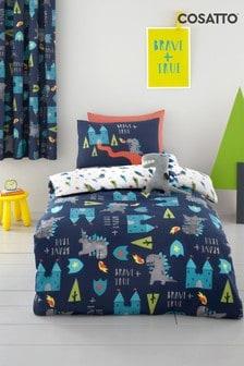 Cosatto Dragon Kingdom Duvet Cover and Pillowcase Set