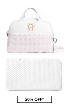 Aigner Baby Boys Pink Changing Bag