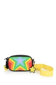 Girls Multicolour Star Print Shoulder Bag