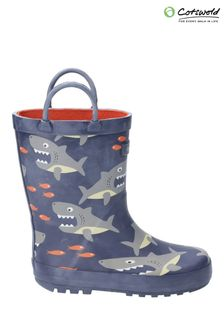 Cotswold Grey Puddle Waterproof Pull-On Boots