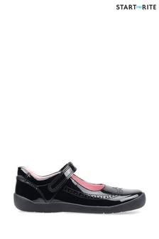 Start-Rite Spirit Black Patent Leather Shoes