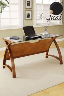 Helsinki 1300 Walnut Laptop Table by Jual