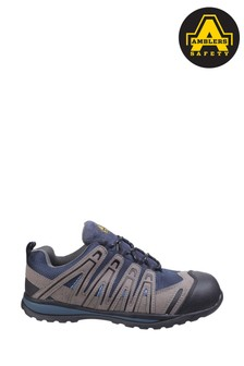 Amblers Safety Blue FS34C Lightweight Lace-Up Safety Trainers