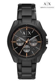 Armani Exchange Gunmetal Giacomo Chronograph Watch