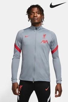 Nike Grey Liverpool FC Strike Track Jacket