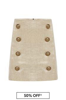 Girls Gold Skirt
