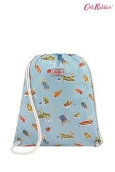 Cath Kidston® Blue Bugs Kids Drawstring Bag