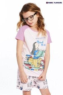 Fabric Flavours Pink Roald Dahl Matilda What To Read Next Pyjamas