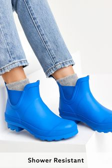 Blue Ankle Wellies