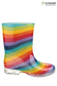 Cotswold Clear PVC Jnr Wellington Boots