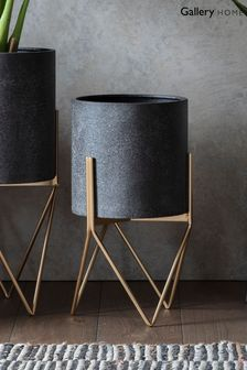 Hoven Metal Planter by Gallery Direct