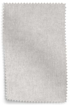 Light Grey Fine Chenille Fabric By The Roll