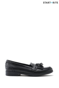 Start-Rite Sketch Black Leather Shoes