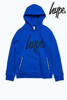 Hype. Blue Micro Taping Kids Pullover Hoody