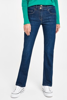 Royal Blue Lift, Slim And Shape Boot Cut Jeans