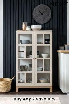 Cream Malvern Glazed Cabinet