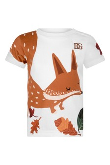 Baby Boys Brown Cottonfox T-Shirt