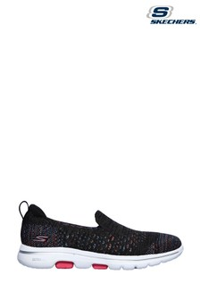 Skechers® Black Go Walk 5 Mirage Trainers