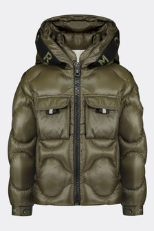 Boys Olive Down Padded Zonzo Jacket