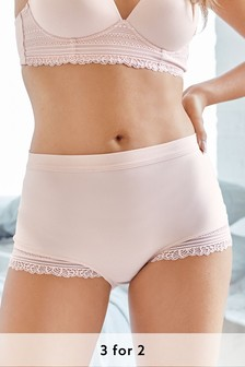 Pink Full Brief Forever Comfort® Knickers