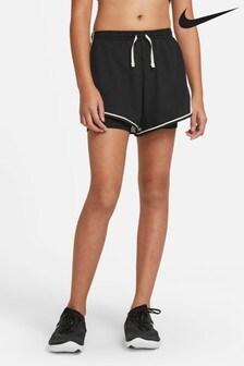 Nike Dri-Fit Black Tempo Shorts