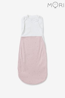 MORI Pink Newborn Swaddle Bag
