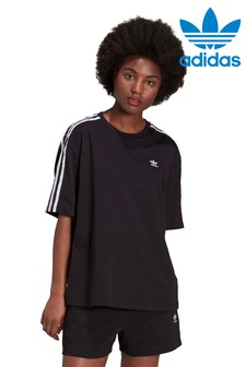 adidas Originals Oversized 3 Stripe TShirt
