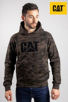 Cat® Green Trademark Hooded Sweatshirt
