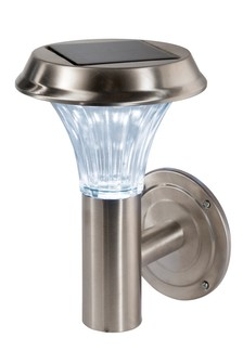 Solar Stainless Steel Wall Light by Outdoor Living Company
