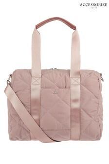 Accessorize Pink Becca Duffle Bag