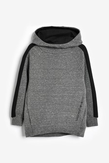 Charcoal Cowl Neck Hoody (3-16yrs)