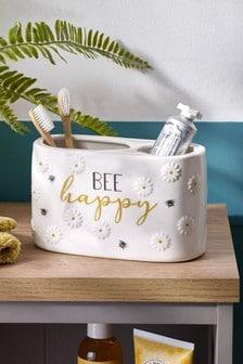 Bee & Daisy Toothbrush Holder