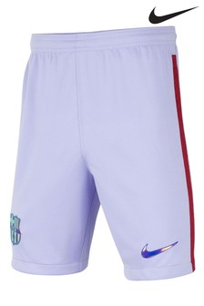 Nike Barcleona 21/22 Home and Away Kids Football Shorts