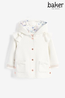 Baker by Ted Baker Quilted Frill Jacket
