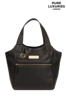Pure Luxuries London Roxanne Leather Tote Bag