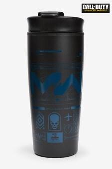 Black Call of Duty Metal Travel Mug