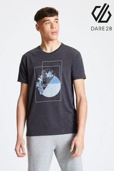 Dare 2b Grey Stringent Printed T-Shirt