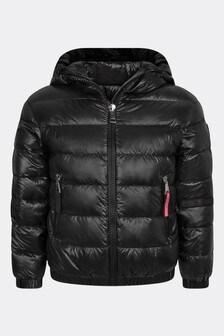 Girls Black Antipas Jacket