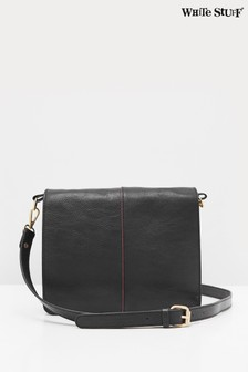 White Stuff Black Anna Multi Compartment Xbody Bag