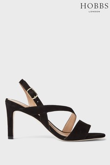 Hobbs Black Mila Sandals