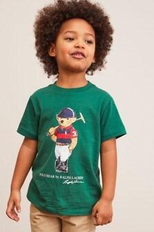 Ralph Lauren Green Bear T-Shirt