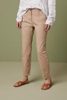 Stone Chino Trousers