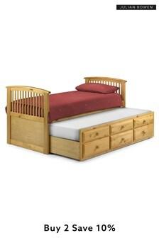 Pine Hornblower Trundle Bed By Julian Bowen