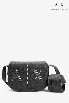 Armani Exchange Stud Crossbody Bag