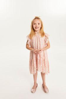 Pink Lace Dress (3-16yrs)