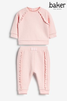 Baker by Ted Baker Pink Top And Joggers Set