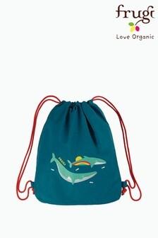 Frugi Blue Recycled Swim Or PE Bag