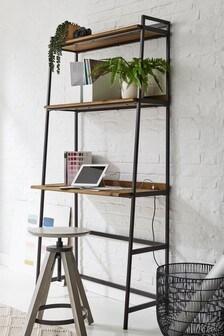 Oak Effect Bronx Modular Desk