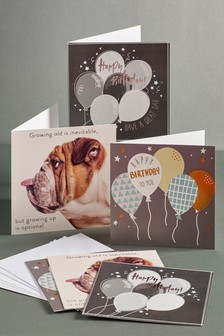 Set of 6 Mixed Cards